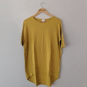 Mustard Yellow LuLaRoe Irma Tunic